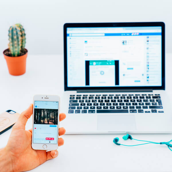 Create awareness with paid social media campaigns on Facebook or Instagram ads.